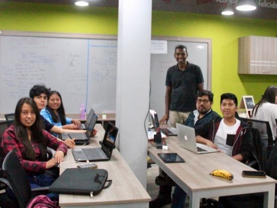 Web team
